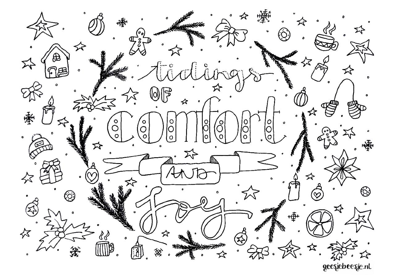 kleurplaat-kerst-comfort-Joy