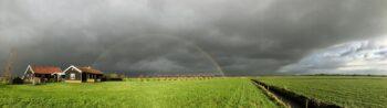 lucht in de polder