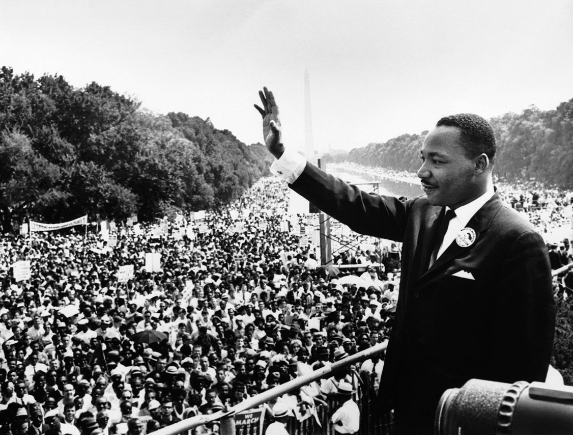 Zelfs de tweedehands teksten van Martin Luther King raken