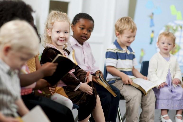 Is de kerk saai voor kinderen?