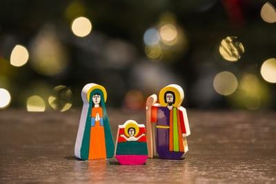 Laat OMA thuis met kerst