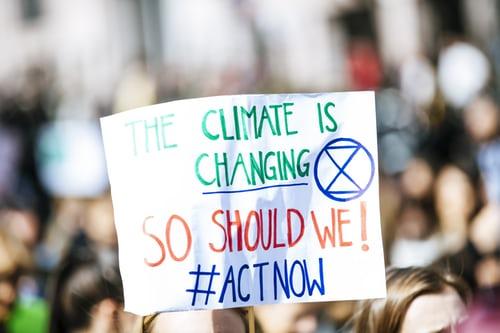 """""""De echte oplossing voor het klimaat zit in veranderen"""""""