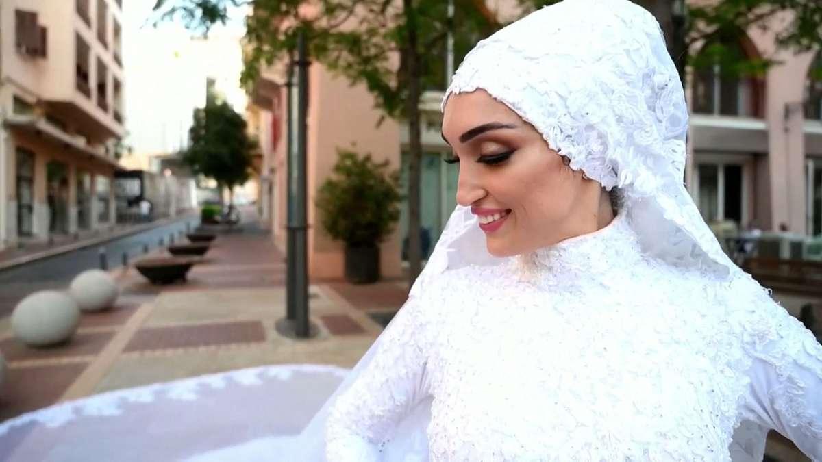 Bruid in Beiroet (+ gedicht)