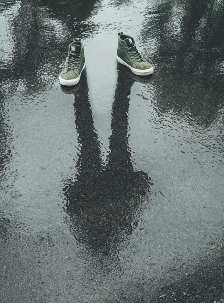 Als de moed je in de schoenen zakt, zit het daar waar het zijn moet om de eerste stap te zetten