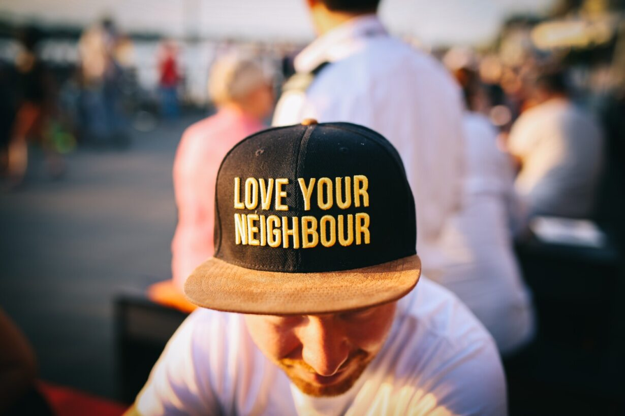 bouwen aan burenrelatie