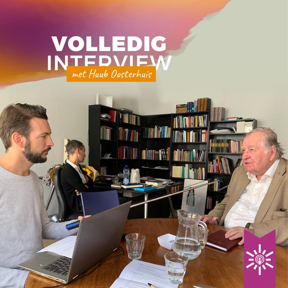Niels Gillebaard in gesprek met Huub Oosterhuis