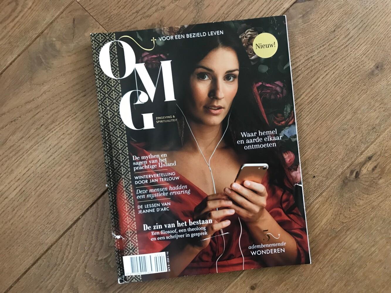 OMG – nieuw magazine rondom zingeving & spiritualiteit – een aanwinst of niet?