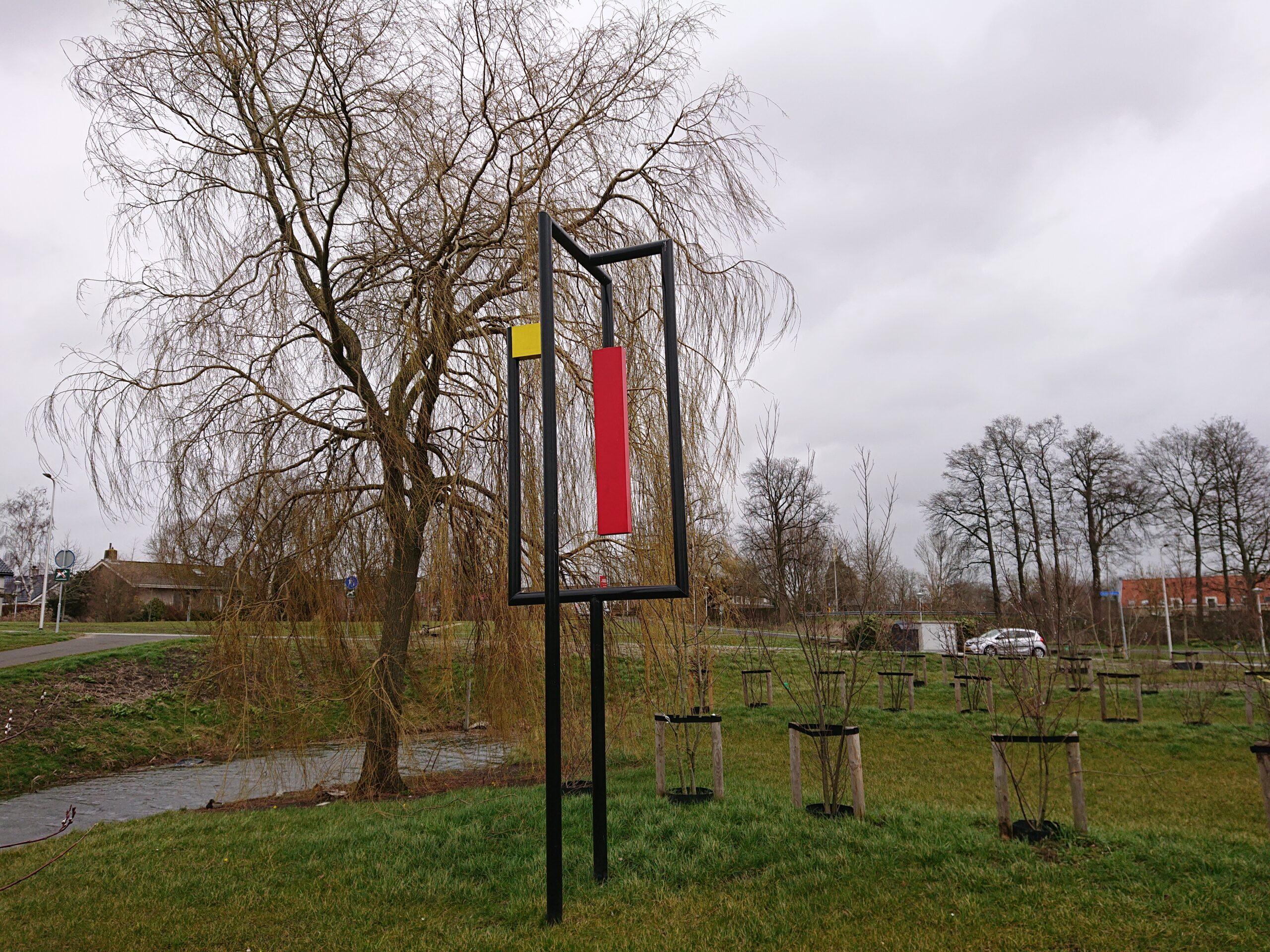 Beelden in Nederland: Mondriaan in de polder