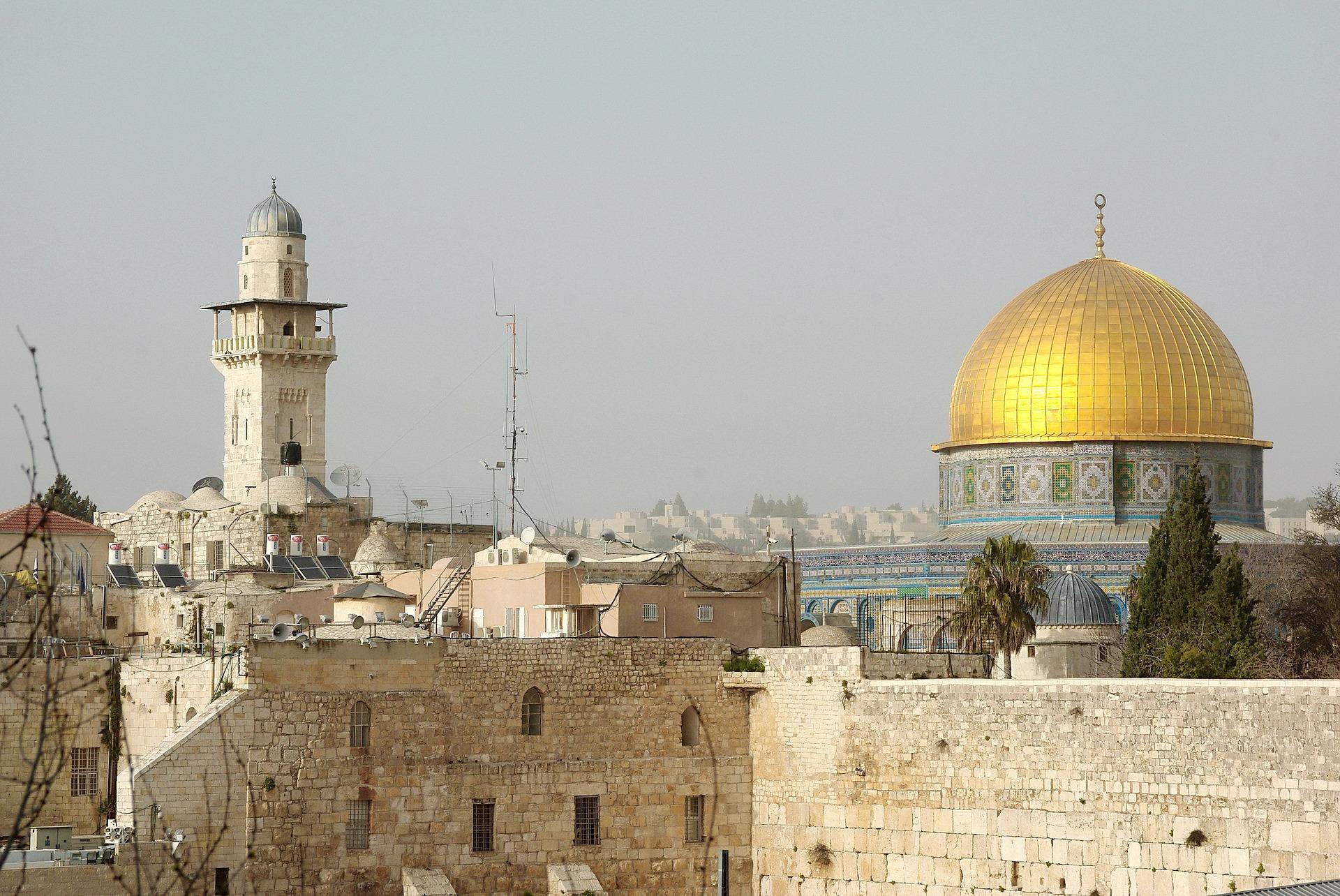 Gebed vanwege conflict Israël en Palestina in Gaza