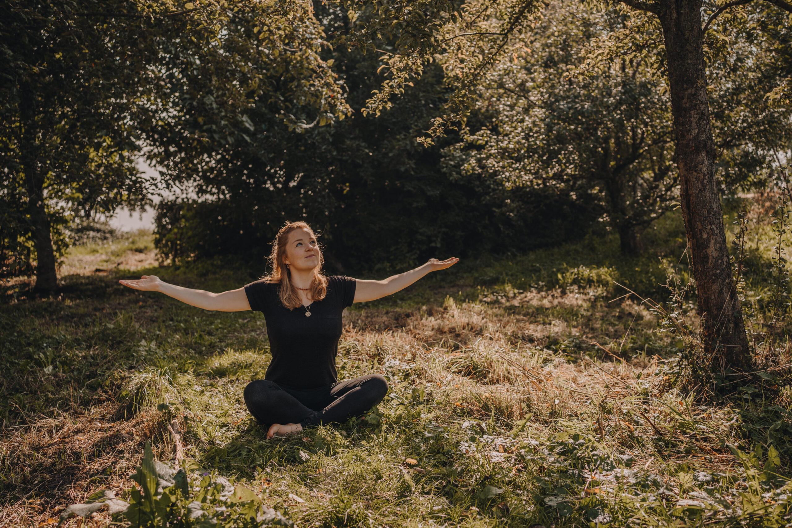 """""""Yoga is voor mij een manier om bij God te zijn"""""""