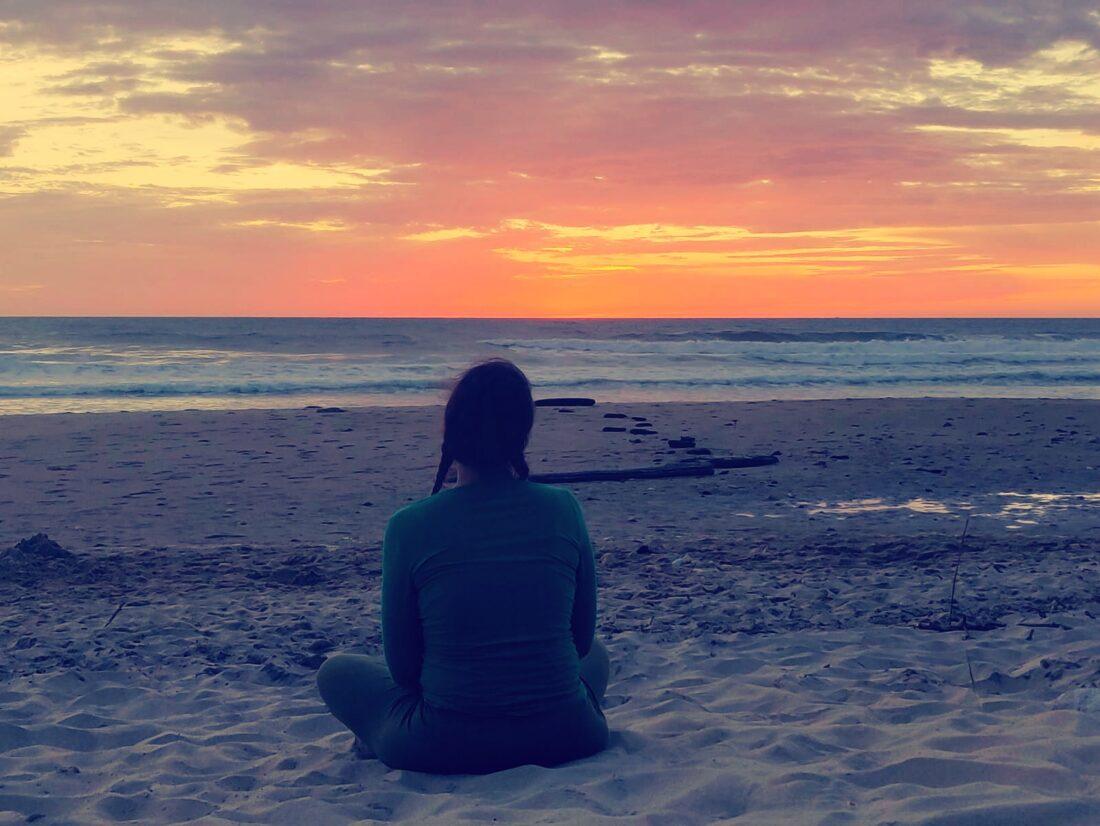 Mediteren voor het slapen gaan
