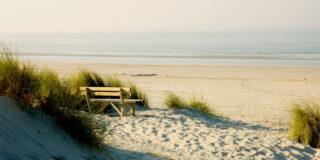 Rust het strand van Ameland